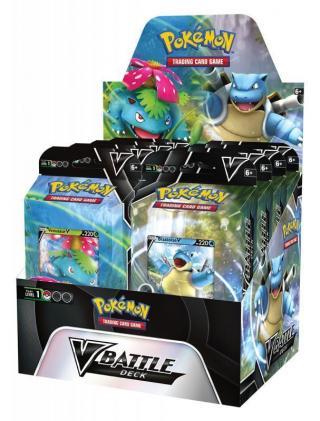 Pokémon TCG: V Battle Deck February Blastoise V/Venusaur V [HRA]